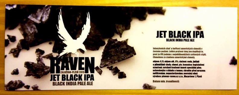 Jet Black IPA 14 - Black India Pale Ale