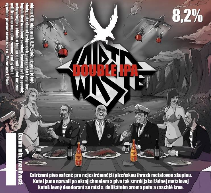 Laid To Waste 18 - Double IPA