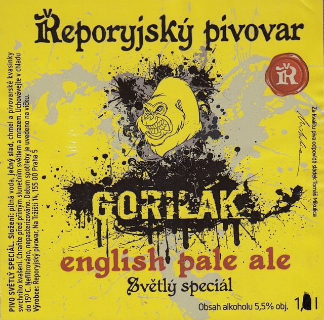 Gorilák 14° - English Pale Ale