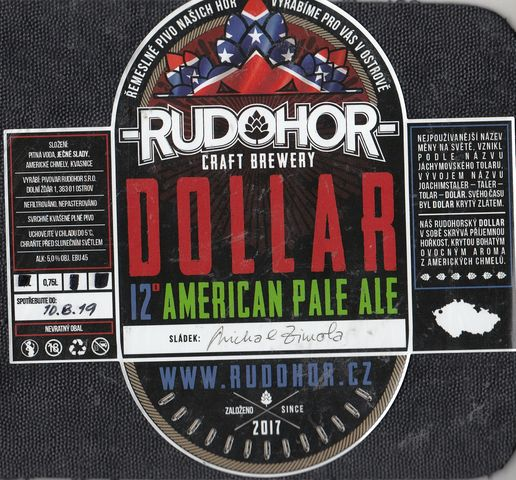 Dollar 12 - American Pale Ale