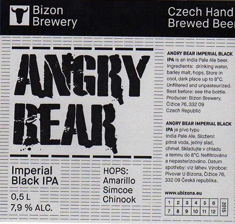 Angry Bear - Imperial Black IPA