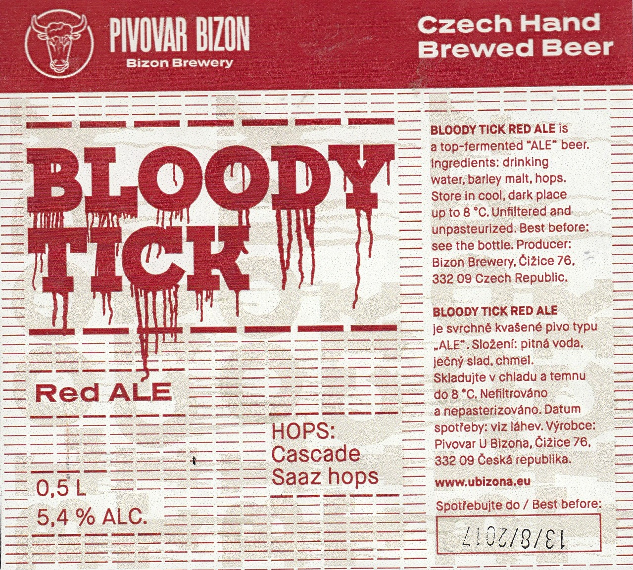 Bloody Tick - Red Ale