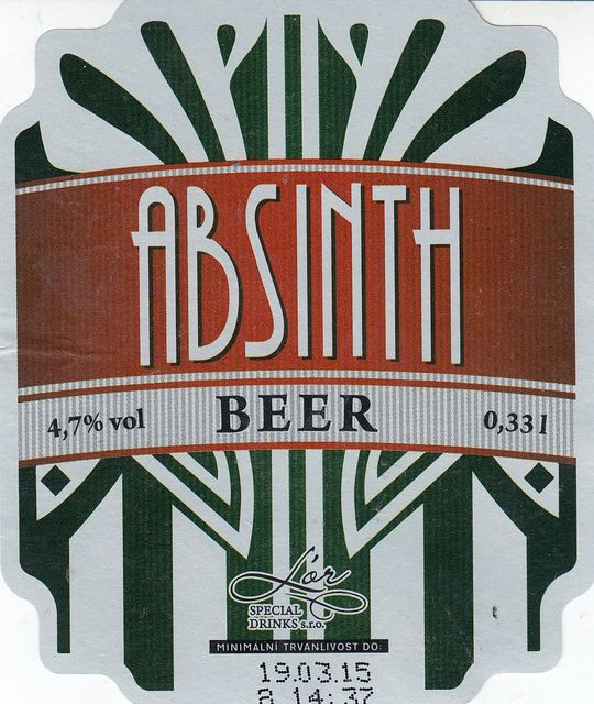L'or Special Drinks Absinth beer 11 - světlý ochucený ležák
